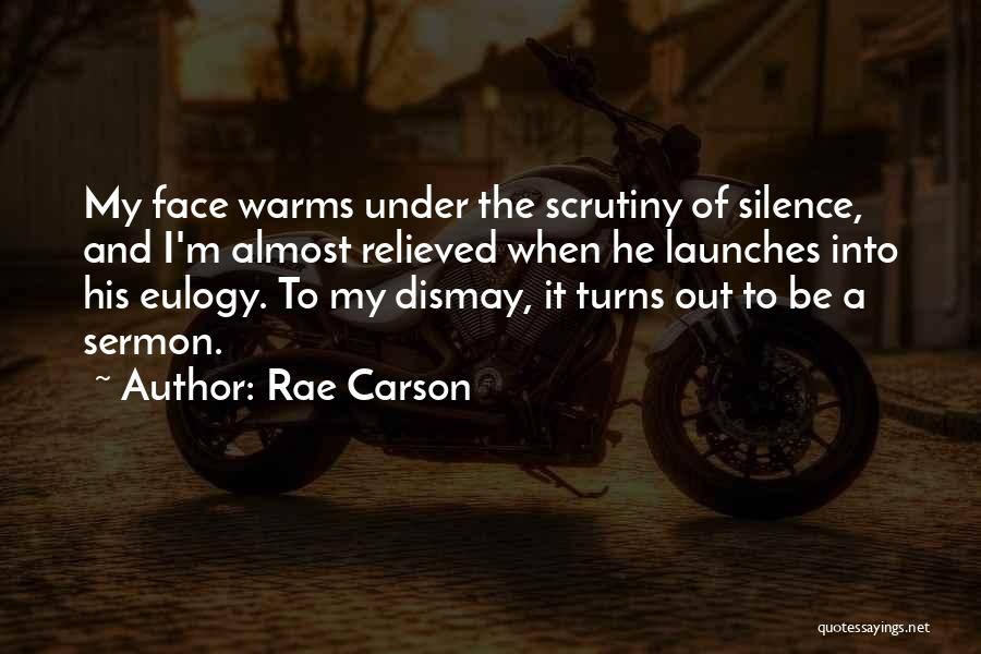 Relieved Quotes By Rae Carson