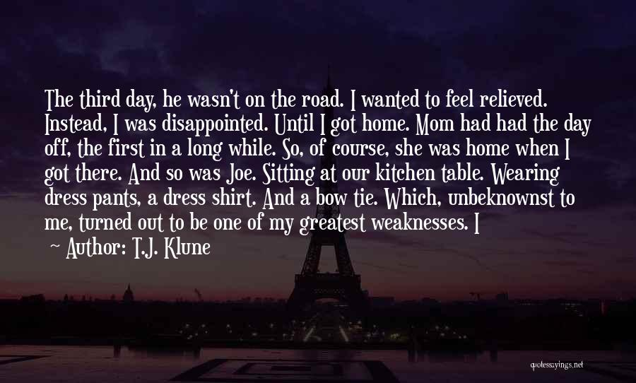 Relieved Quotes By T.J. Klune