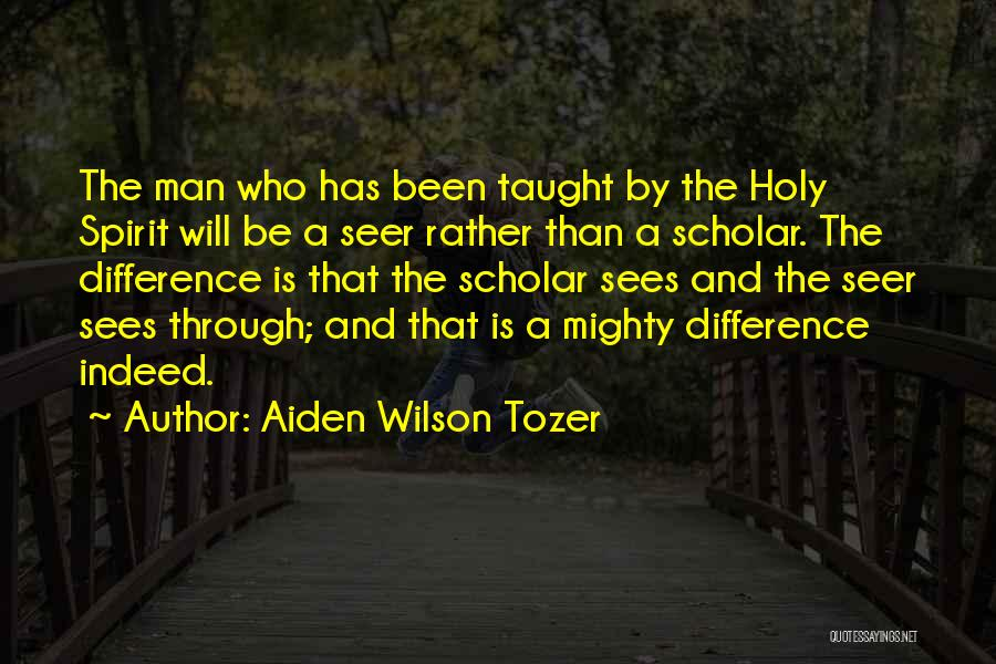 Religion Differences Quotes By Aiden Wilson Tozer