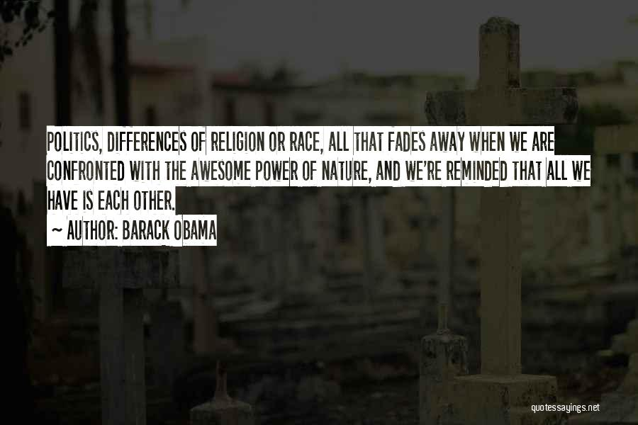 Religion Differences Quotes By Barack Obama