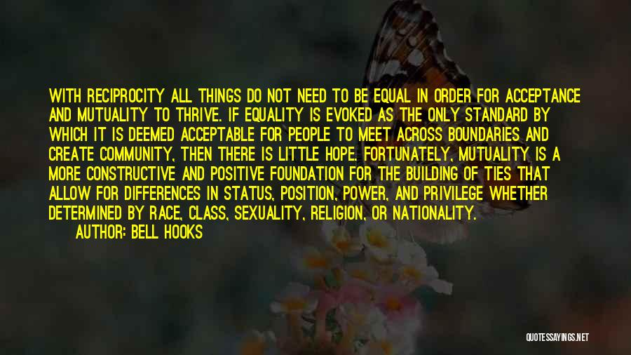 Religion Differences Quotes By Bell Hooks