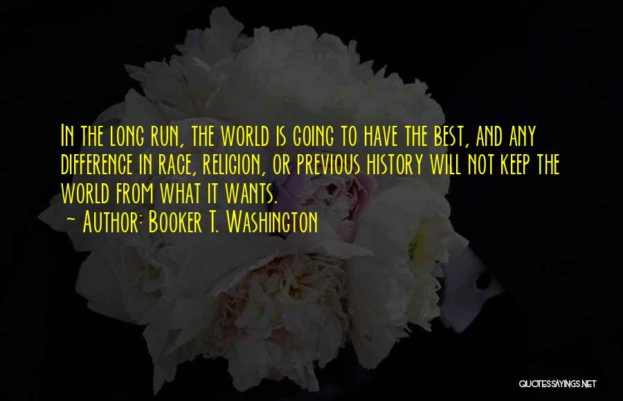 Religion Differences Quotes By Booker T. Washington