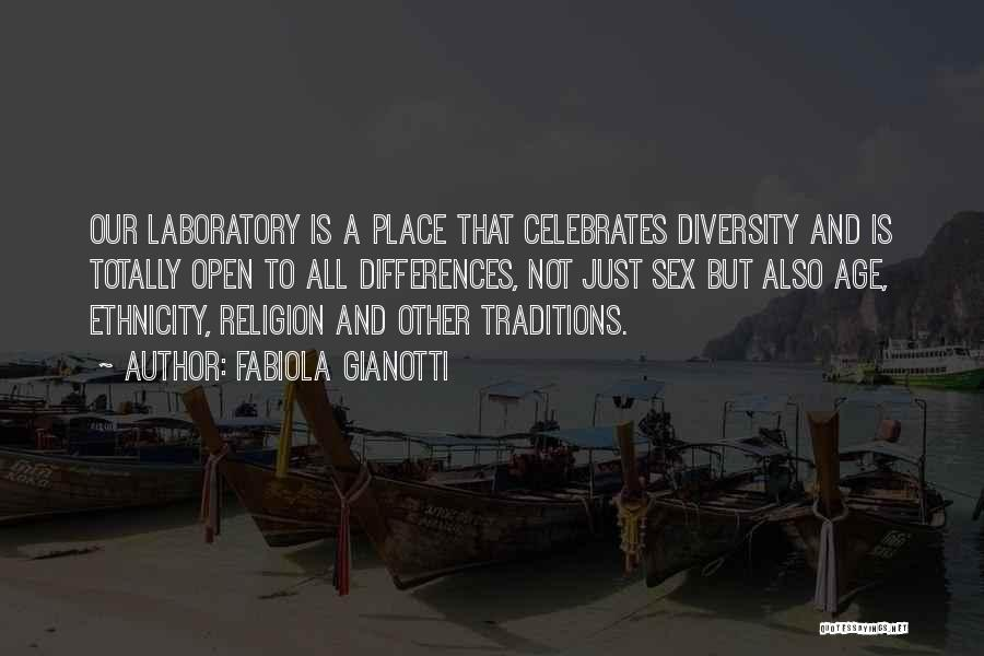 Religion Differences Quotes By Fabiola Gianotti
