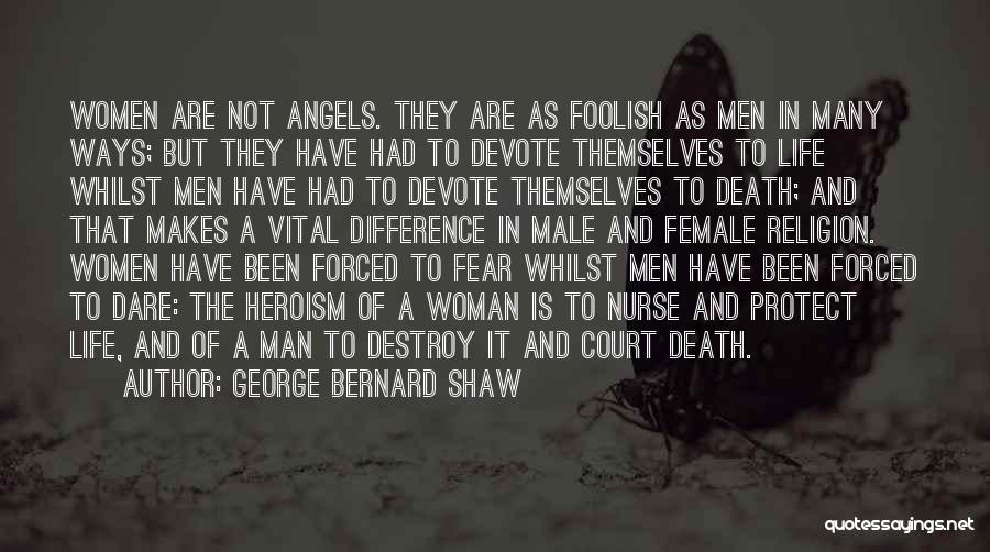 Religion Differences Quotes By George Bernard Shaw