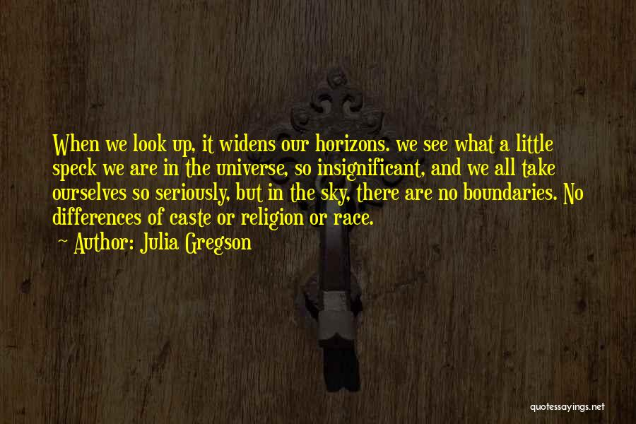 Religion Differences Quotes By Julia Gregson
