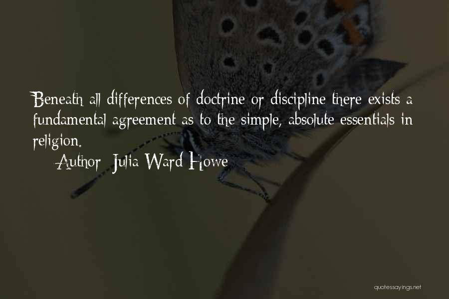 Religion Differences Quotes By Julia Ward Howe