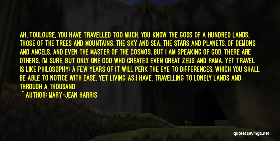 Religion Differences Quotes By Mary-Jean Harris
