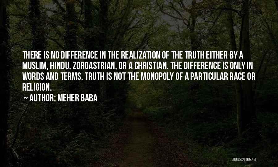 Religion Differences Quotes By Meher Baba