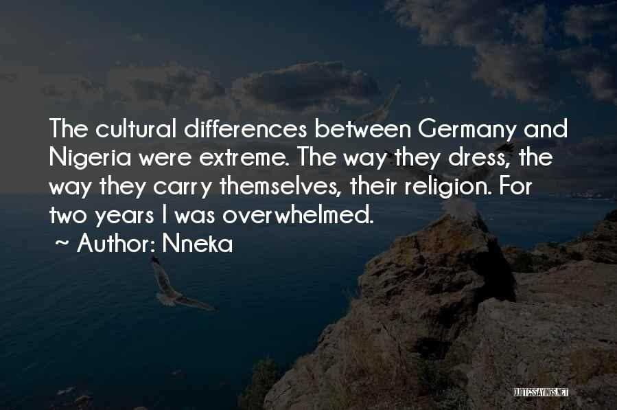 Religion Differences Quotes By Nneka