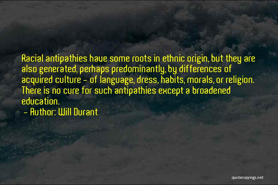 Religion Differences Quotes By Will Durant