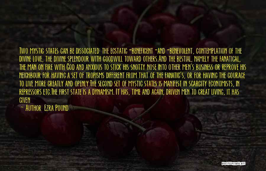 Religion Fanaticism Quotes By Ezra Pound