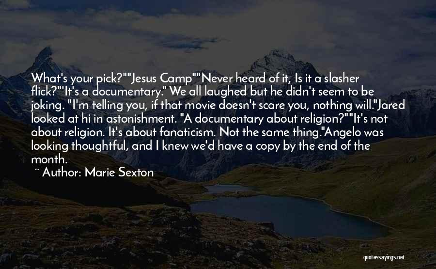 Religion Fanaticism Quotes By Marie Sexton
