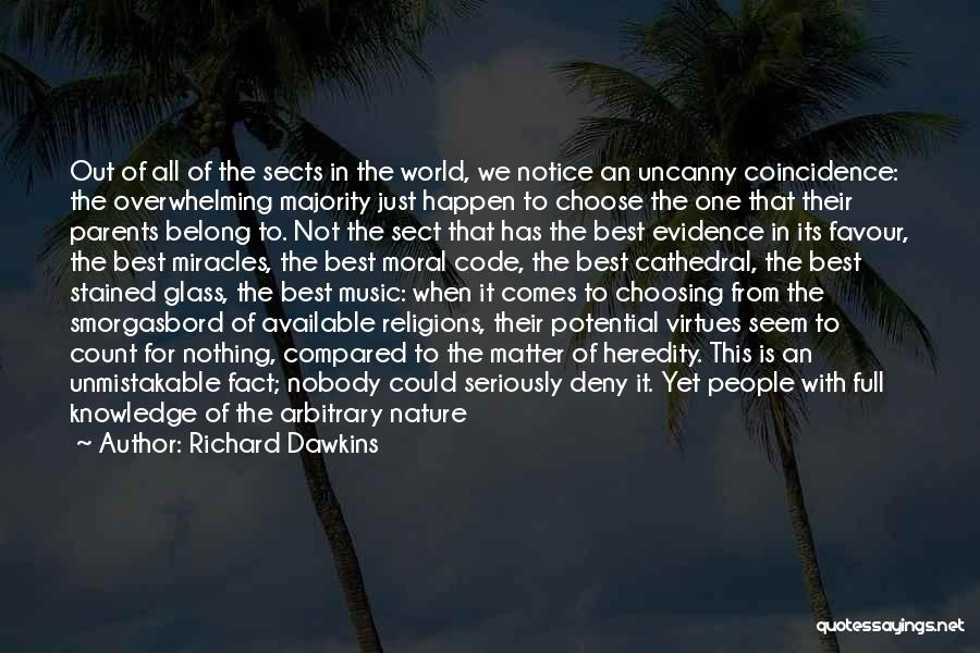 Religion Fanaticism Quotes By Richard Dawkins