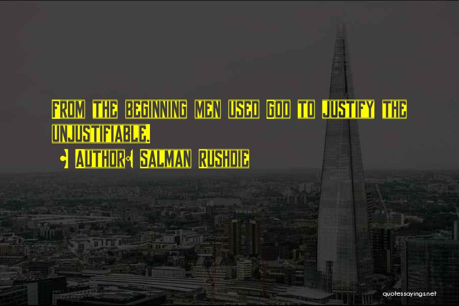 Religion Fanaticism Quotes By Salman Rushdie