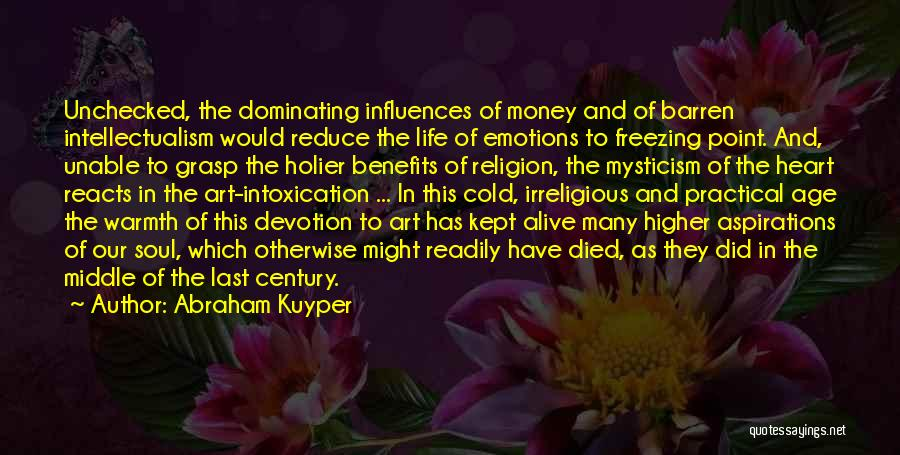 Religion In Art Quotes By Abraham Kuyper