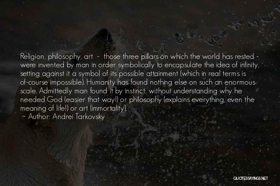Religion In Art Quotes By Andrei Tarkovsky