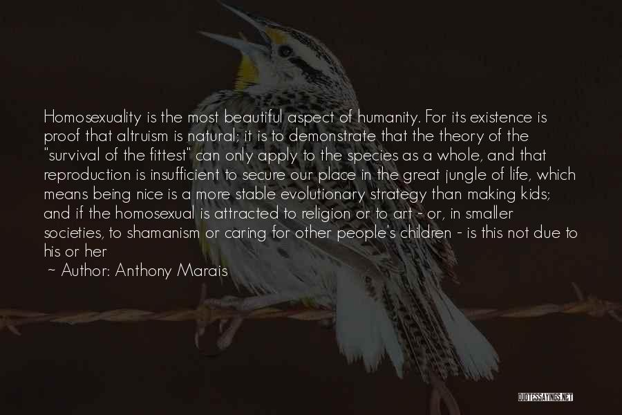 Religion In Art Quotes By Anthony Marais