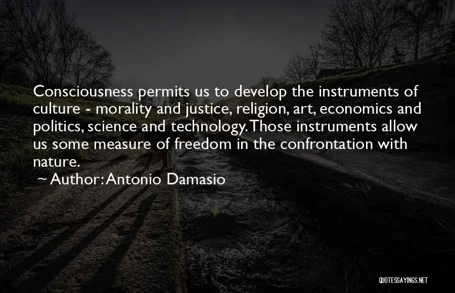 Religion In Art Quotes By Antonio Damasio