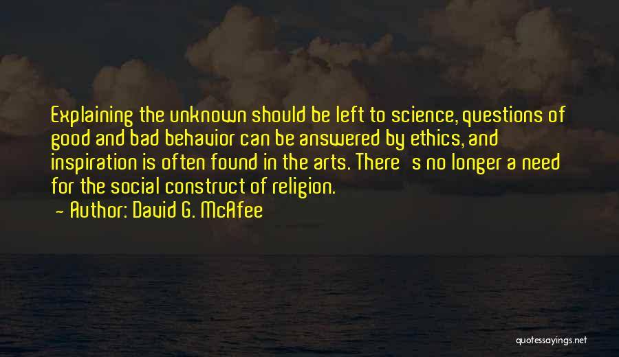 Religion In Art Quotes By David G. McAfee