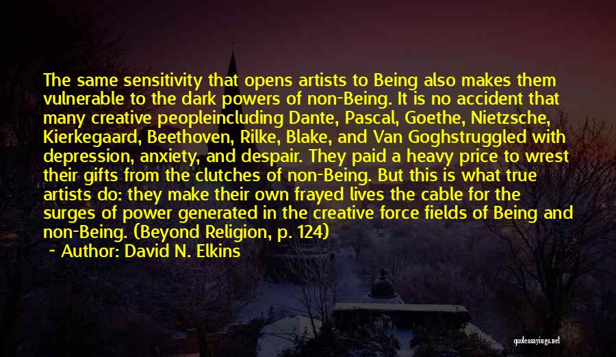 Religion In Art Quotes By David N. Elkins