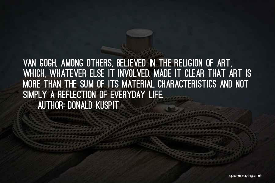 Religion In Art Quotes By Donald Kuspit