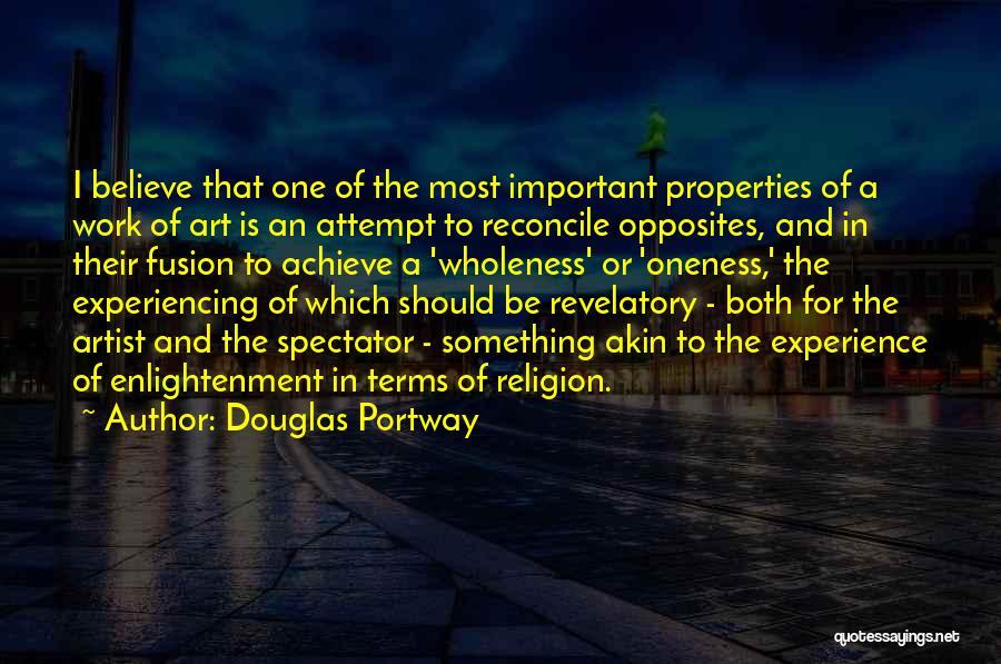 Religion In Art Quotes By Douglas Portway