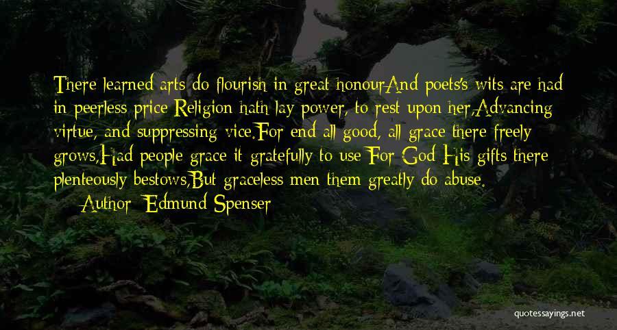 Religion In Art Quotes By Edmund Spenser