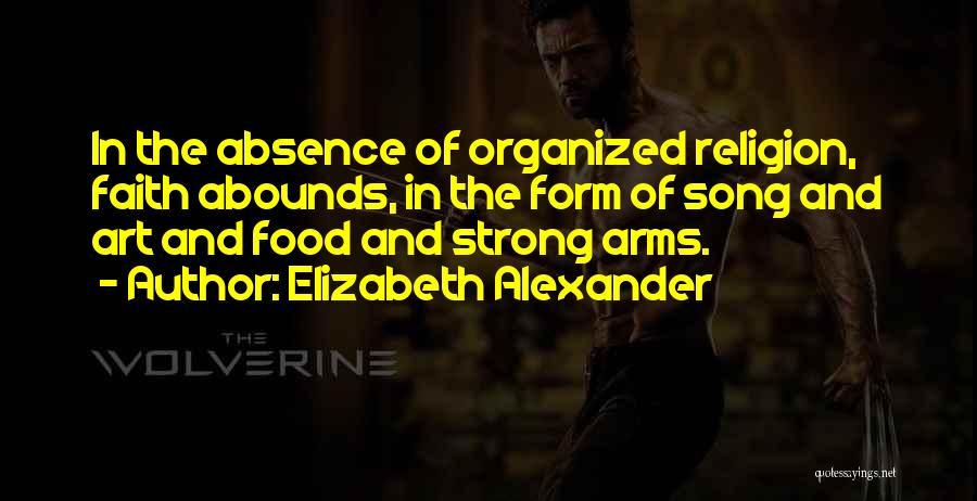 Religion In Art Quotes By Elizabeth Alexander