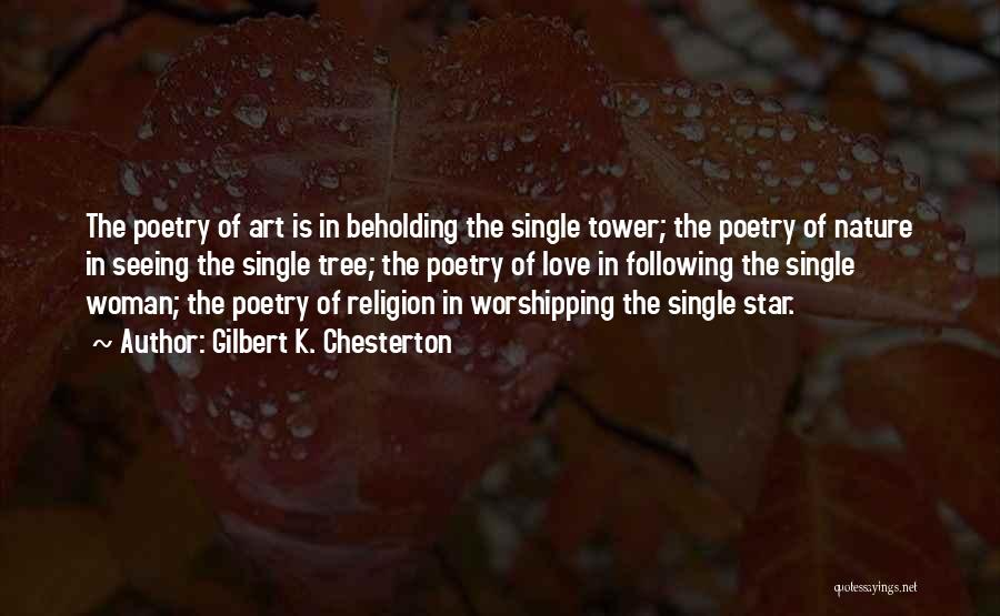 Religion In Art Quotes By Gilbert K. Chesterton