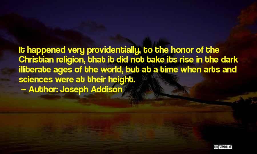Religion In Art Quotes By Joseph Addison