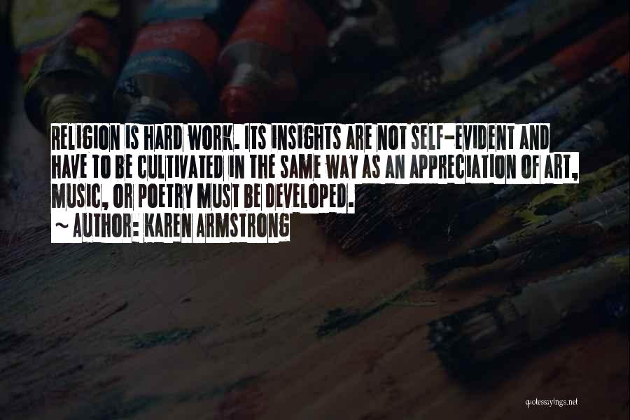 Religion In Art Quotes By Karen Armstrong
