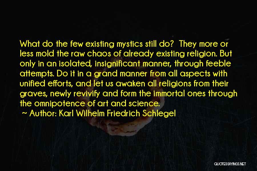 Religion In Art Quotes By Karl Wilhelm Friedrich Schlegel