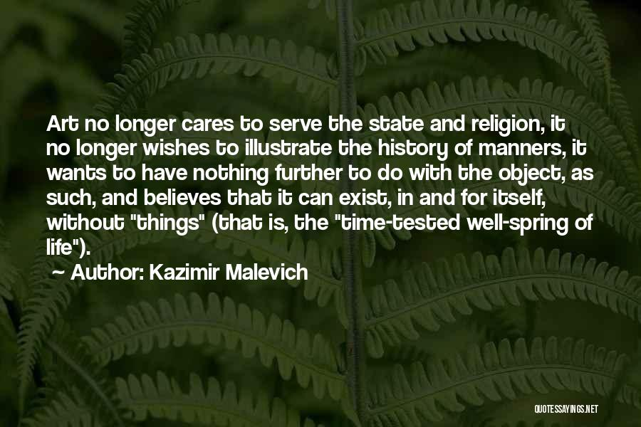 Religion In Art Quotes By Kazimir Malevich