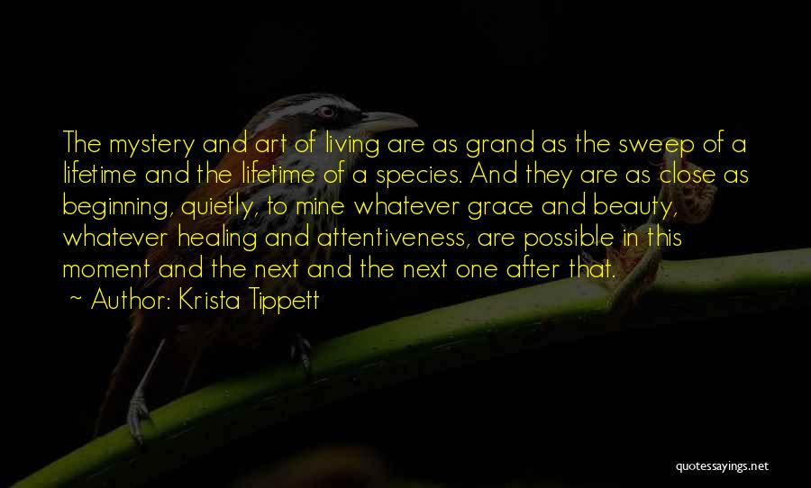 Religion In Art Quotes By Krista Tippett