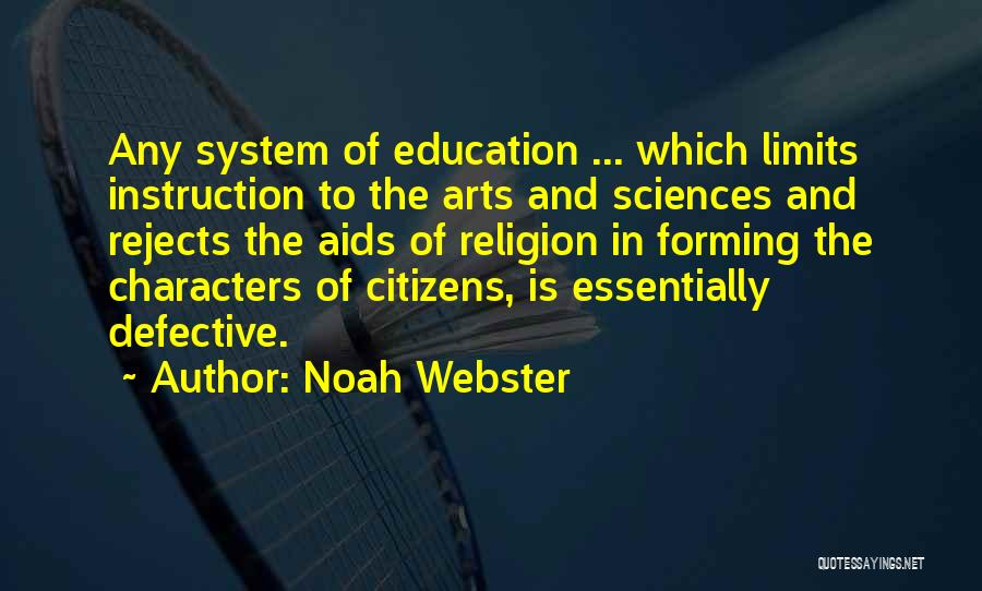 Religion In Art Quotes By Noah Webster