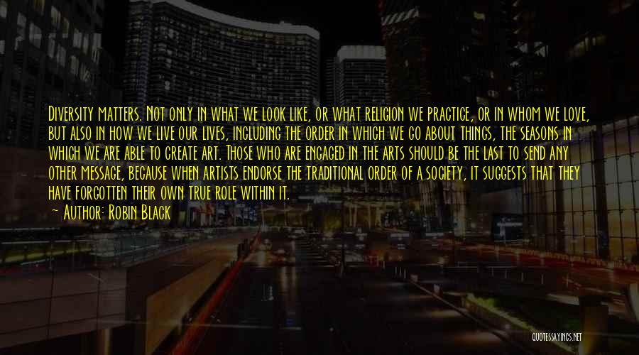 Religion In Art Quotes By Robin Black