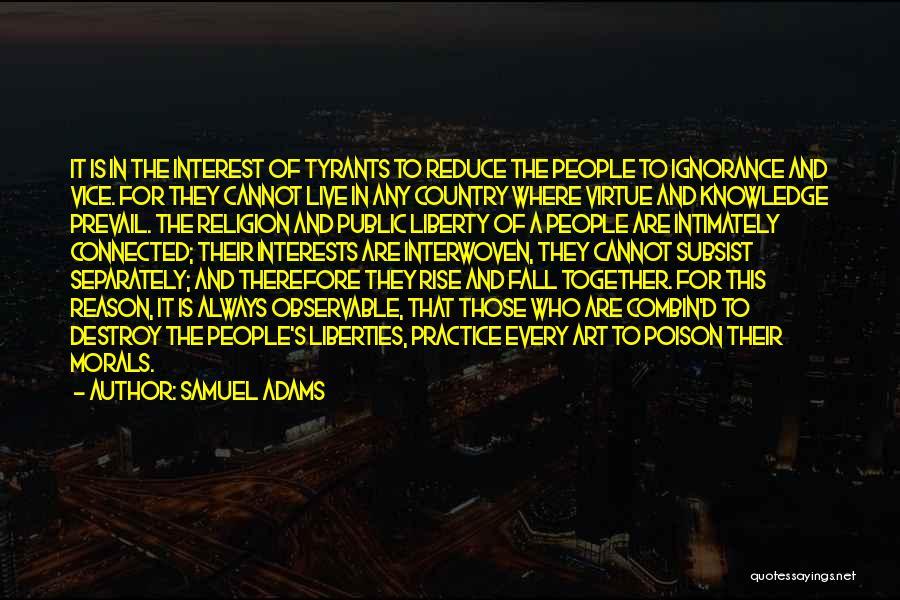 Religion In Art Quotes By Samuel Adams