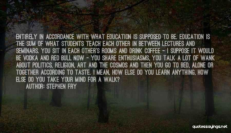 Religion In Art Quotes By Stephen Fry