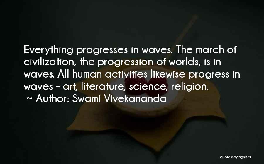 Religion In Art Quotes By Swami Vivekananda