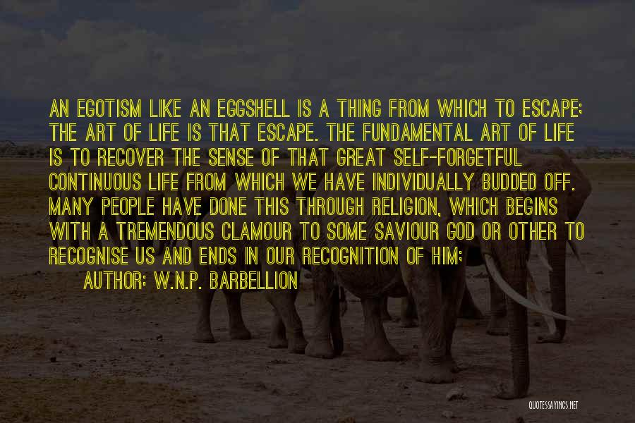 Religion In Art Quotes By W.N.P. Barbellion