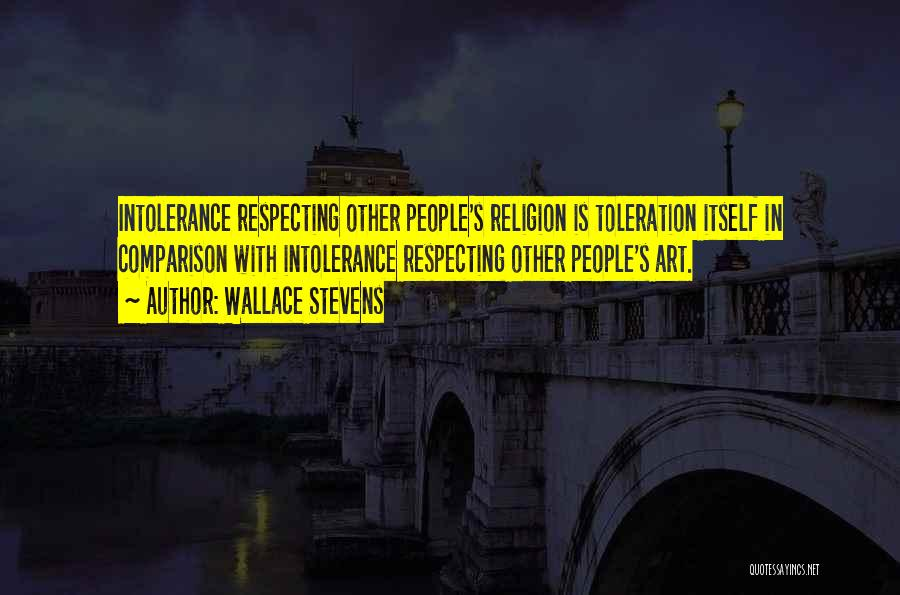 Religion In Art Quotes By Wallace Stevens