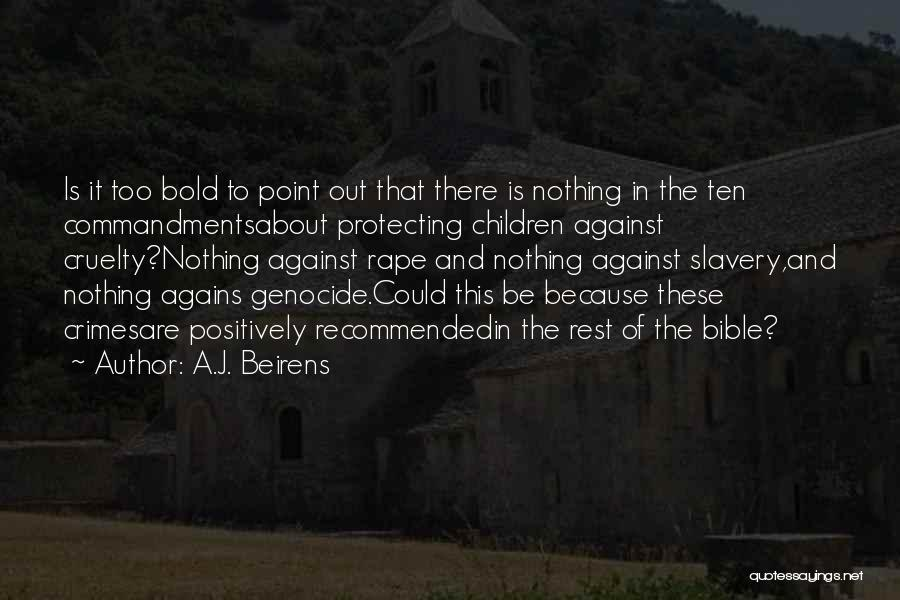 Religion In The Bible Quotes By A.J. Beirens