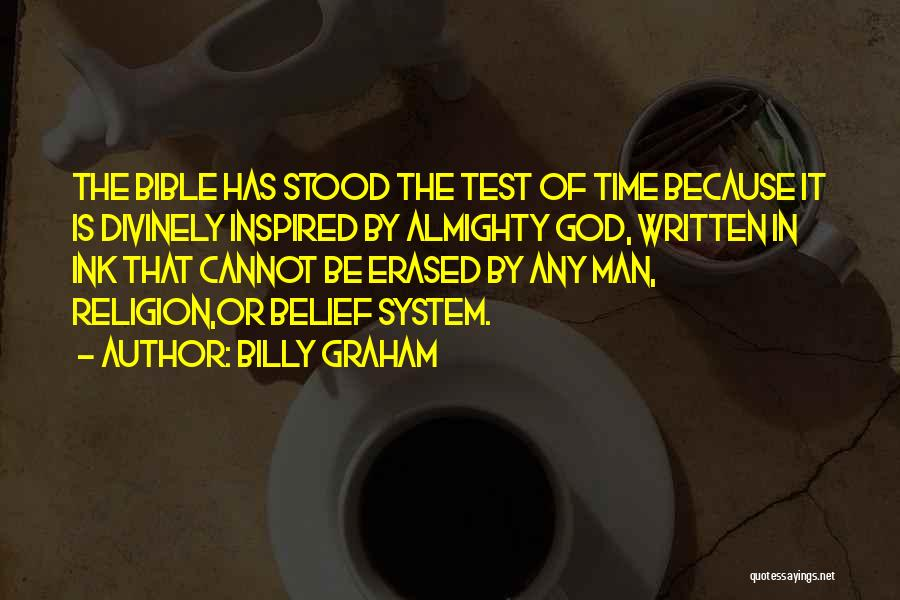 Religion In The Bible Quotes By Billy Graham
