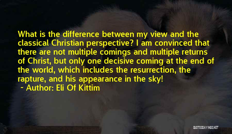 Religion In The Bible Quotes By Eli Of Kittim