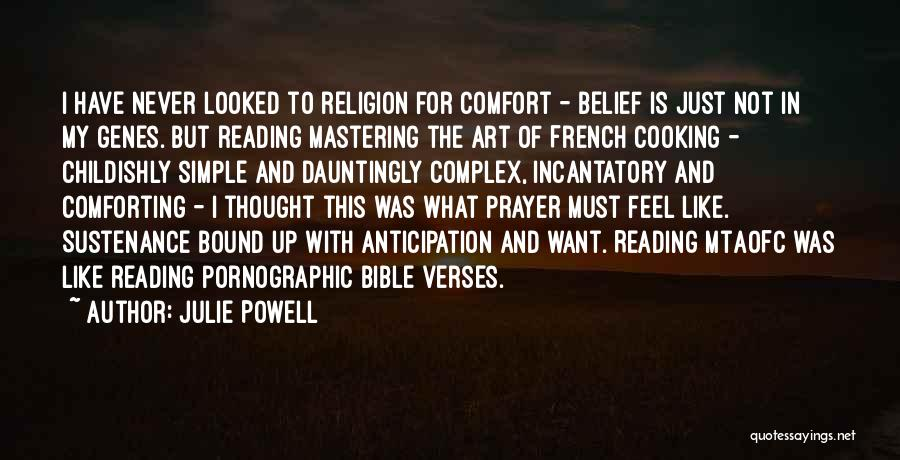 Religion In The Bible Quotes By Julie Powell