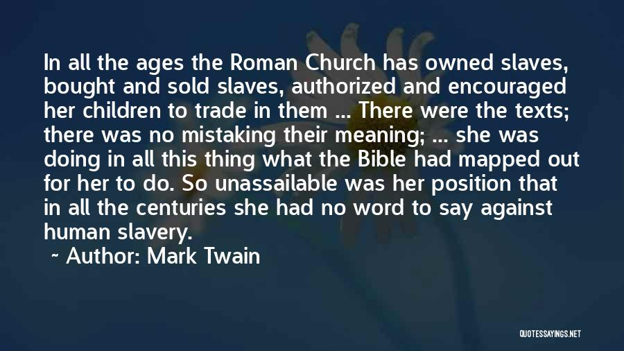 Religion In The Bible Quotes By Mark Twain