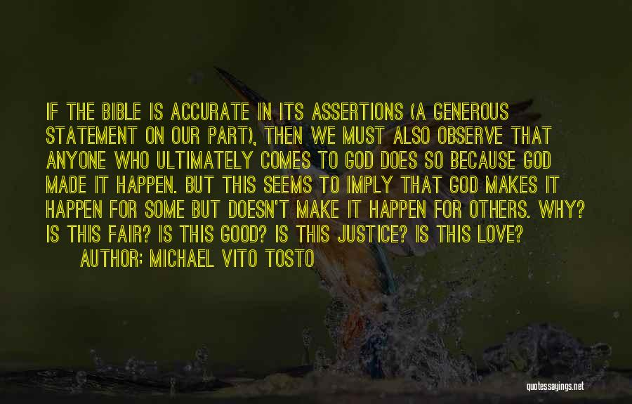 Religion In The Bible Quotes By Michael Vito Tosto