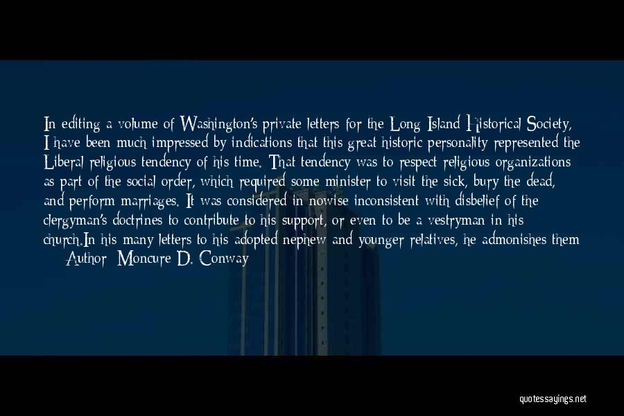 Religion In The Bible Quotes By Moncure D. Conway