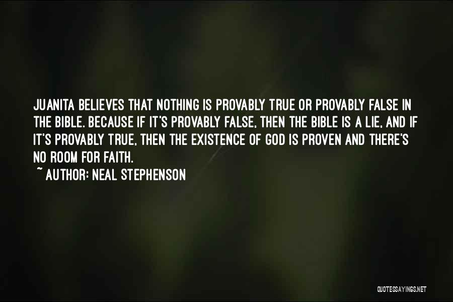 Religion In The Bible Quotes By Neal Stephenson