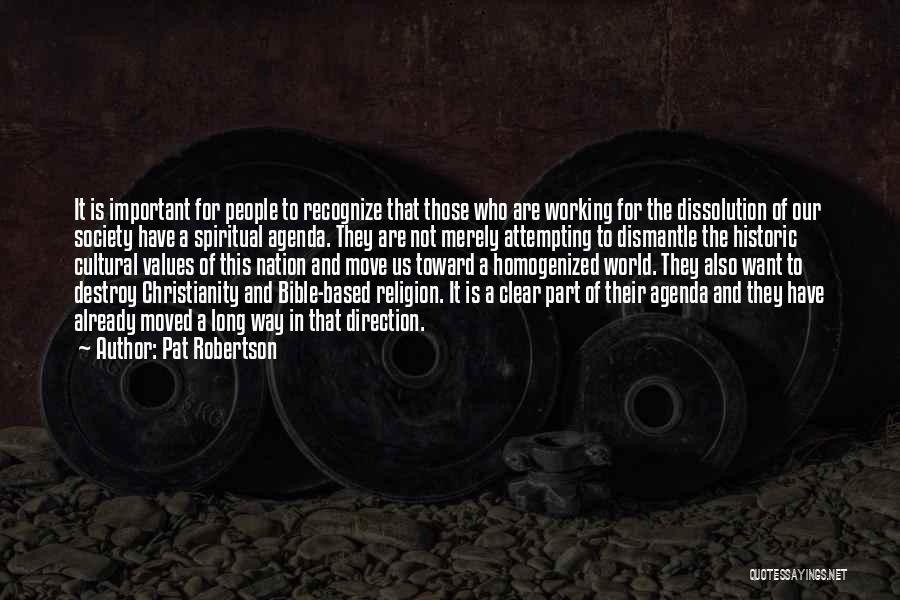 Religion In The Bible Quotes By Pat Robertson